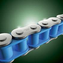 Plastic chain / roller / lube-free / attachment