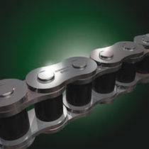 Power transmission chain / galvanized steel / roller / maintenance-free