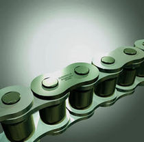 Power transmission chain / steel / roller / zinc-plated