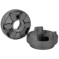 Torsionally flexible coupling / industrial / compact / flameproof