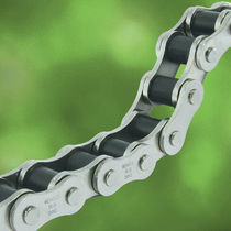 Power transmission chain / roller / nickel-plated / for the food industry