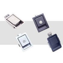 Push-to-close latch / key lock / metal / stainless steel