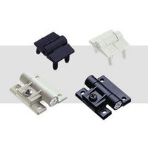 Metal hinge / adjustable-friction / screw-in / 180°