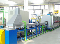 Sintering furnace / conveyor / electric / multi-gas