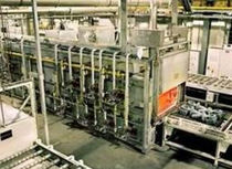 Tempering furnace / hardening / roller / electric