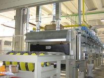 Heat treatment furnace / conveyor / combustion