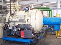 Low-pressure carburizing furnace / rotary retort / combustion / vacuum