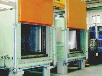Heat treatment furnace / roller / electric / convection