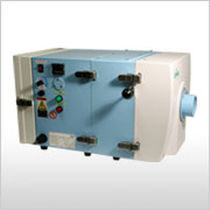 Stationary fume extractor / laser marking / activated carbon filter