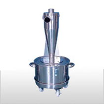 Cyclone dust collector / pulse-jet backflow / compact / mobile