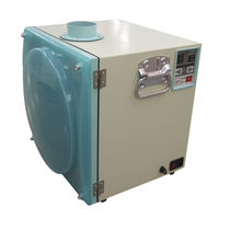 Bag dust collector / pneumatic backblowing / compact / portable