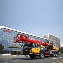 Truck-mounted crane / mobile / telescopic / construction