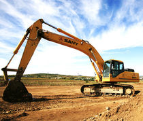 Medium excavator / crawler / for construction / mining and quarrying