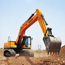 Medium excavator / crawler / for construction / mining