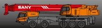 Crane truck / 5-axle