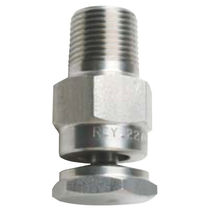 Spraying nozzle / hollow-cone / water / stainless steel