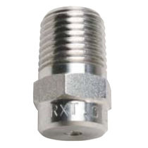 Atomizing nozzle / hollow-cone / air / stainless steel