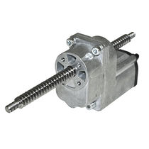 Linear actuator / electric / worm gear / with integrated limit switch