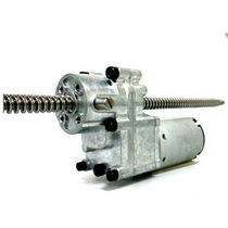 Linear actuator / electric / worm gear / steel