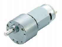 DC electric gearmotor / parallel-shaft / spur / 24V