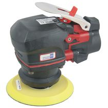 Pneumatic sander / random orbital / low-vibration