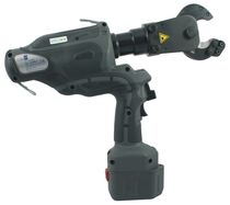 Hydraulic cable cutters / battery-powered / pin