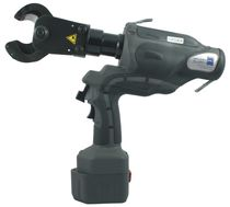 Hydraulic cable cutter / battery-powered / pin