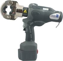Hydraulic crimping tool / for cable lugs / battery-operated