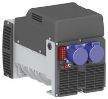 Single-phase alternator / 2-pole / brushless / industrial