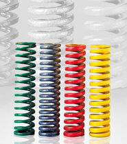 Compression spring / wire / steel / DIN ISO 10243