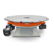 Rotary positioning table / motorized / for heavy loads