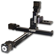 Linear positioning stage / XYZ / motorized / 3-axis