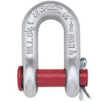 Straight shackle / screw