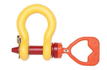 Moving head shackle / screw
