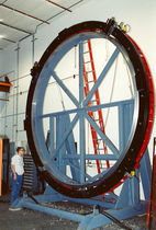 Orbital cutting machine / large-diameter