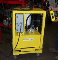 Hydraulic power unit with electric motor / portable