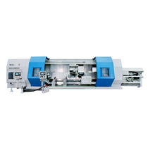 CNC milling-turning center / horizontal / 3-axis / double-spindle
