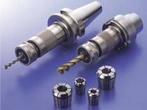 BT tool-holder / Morse taper / tapping / for collet