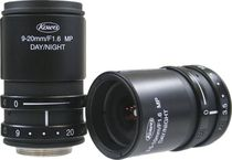 Varifocal camera objective / day/night / machine vision / CCTV video-monitoring