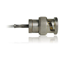 Optical data cable / BNC / coaxial / low-noise