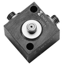Triaxial accelerometer / piezoelectric / with built-in electronics