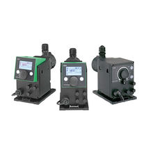 Water pump / for wastewater / stepper motor-driven / diaphragm