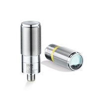 Cylindrical distance sensor / time-of-flight laser / rugged / compact