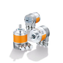 Single-turn rotary encoder / absolute / magnetic / with Fieldbus interface