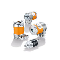 Multi-turn rotary encoder / absolute / magnetic / with Fieldbus interface