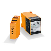 DIN rail mounted time relay / adjustable