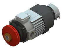 AC motor / three-phase / asynchronous / 50V
