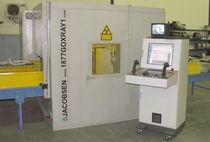 Fully-automatic X-ray wheel inspection machine