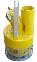 Wastewater pump / hydraulic motor / centrifugal / screw