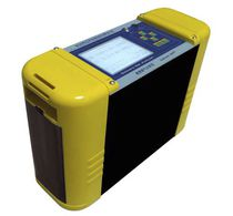 Exhaust gas analyzer / sulfur / oxygen / carbon dioxide